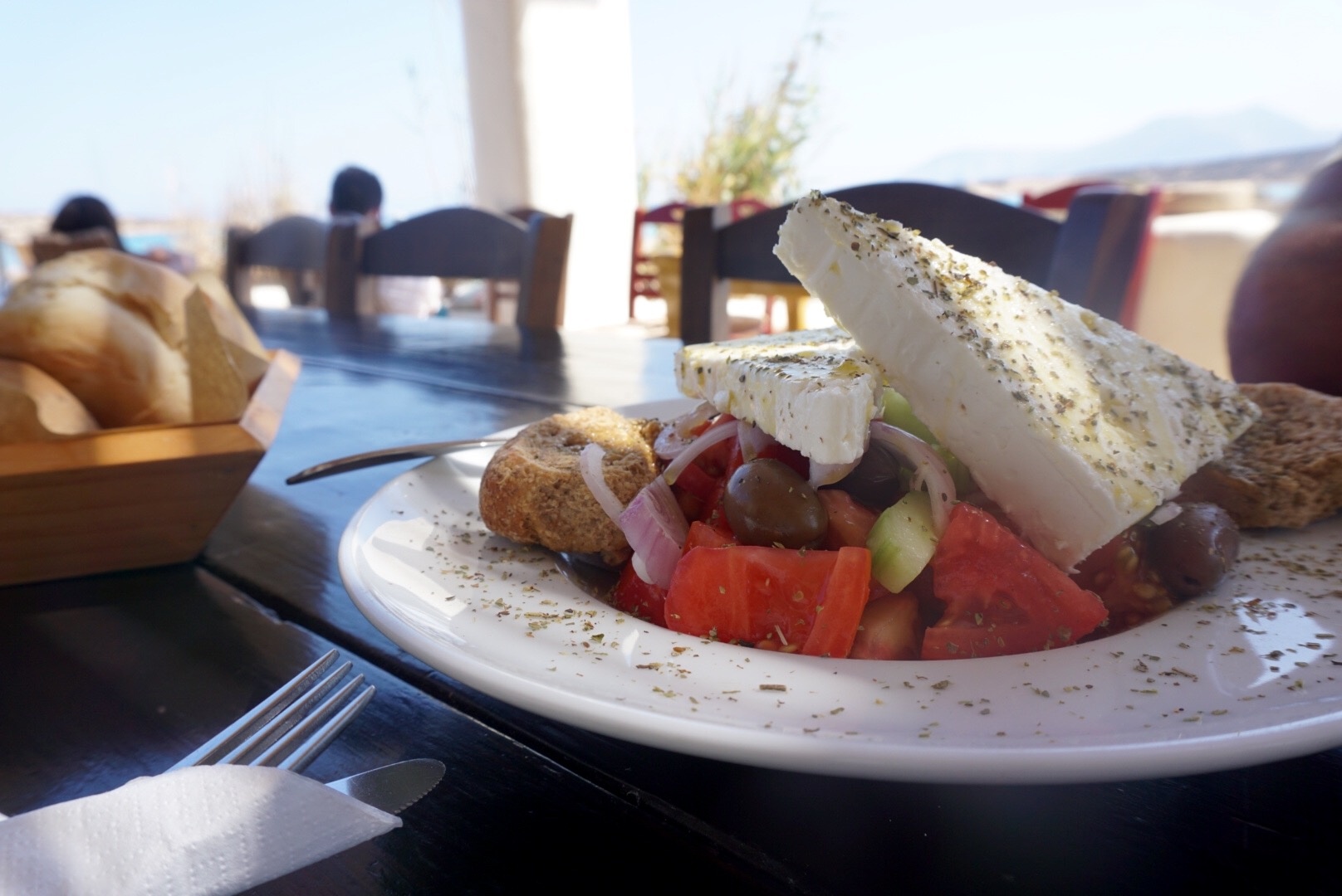 Highlights of 2016: Greek Salad on Koufonisia